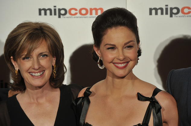 MIPCOM Red Carpet: Anne Sweeney and Ashley Judd