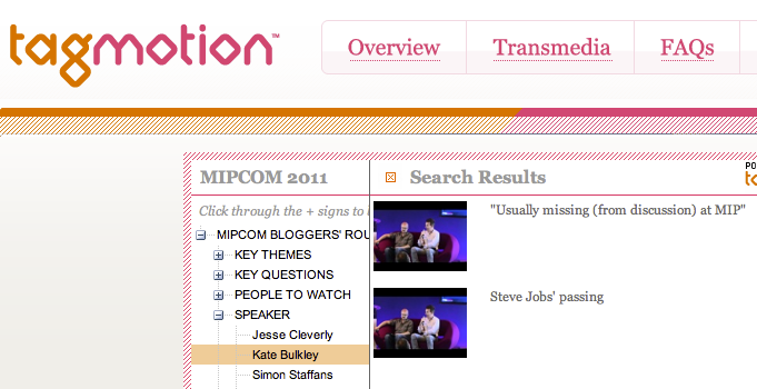 Tagmotion MIPCOM