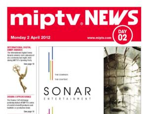 MIPTV daily News 2