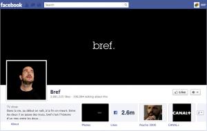 Bref Facebook page