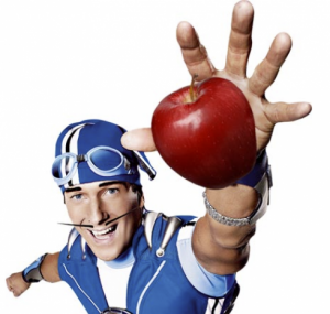 Sportacus sports candy