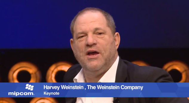 Harvey Weinstein, MIPCOM Daily Wrap 3
