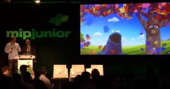 MIPJunior Sesame Street Kinect demo