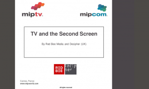 TV and the Second Screen, Red Bee Media