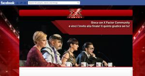 X Factor Italy Facebook game