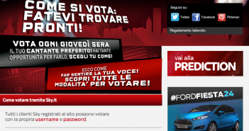 X Factor Italy online voting