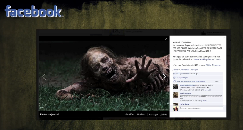 Walking Dead NT1 Facebook