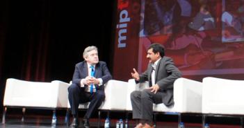 Gordon Brown & Ziauddin Yousafzai
