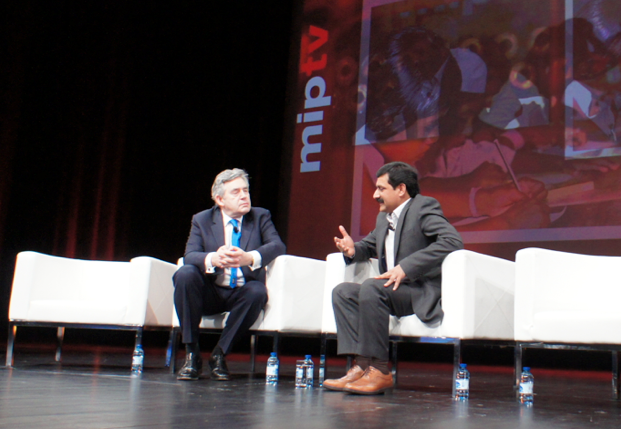 Gordon Brown & Ziauddin Yousafzai