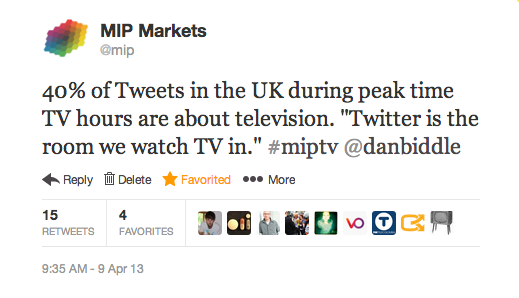 Twitter TV quote