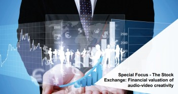 Financial valuation of audio-video creativity