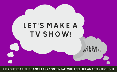 LET'S MAKE A SHOW - and a website?