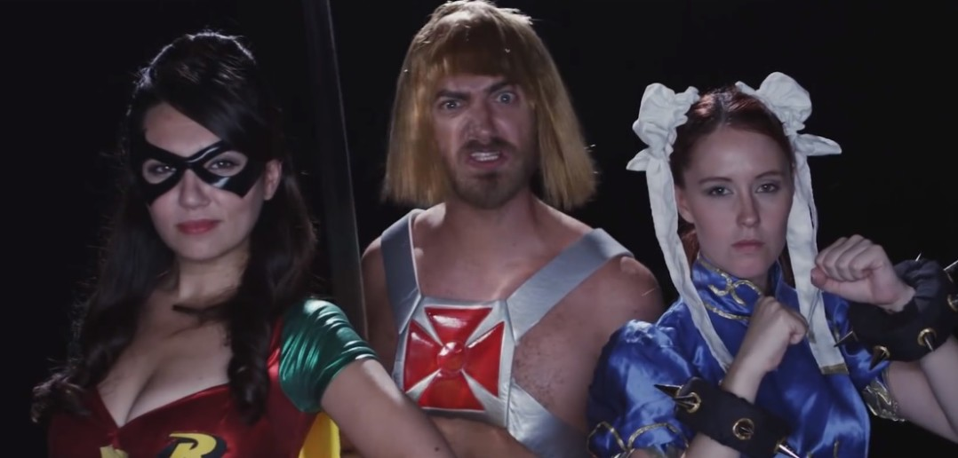 Rhett & Link's Epic Rap Battle: Nerd vs. Geek