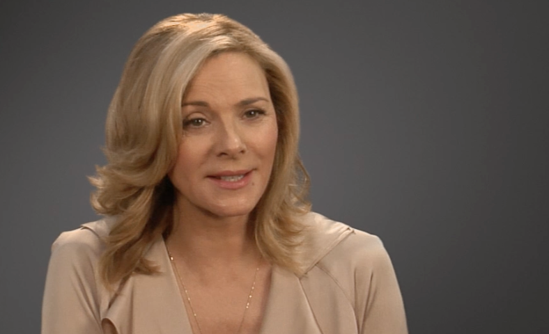 "... Kim Cattrall, on Sensitive Skin's ""freshness, intelligence and"