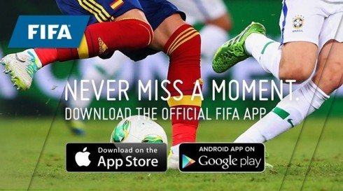 FIFA second screen app world cup