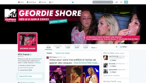 Geordie Shore social TV