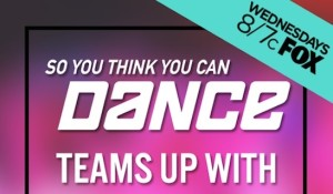 So you think you can dance social teams up
