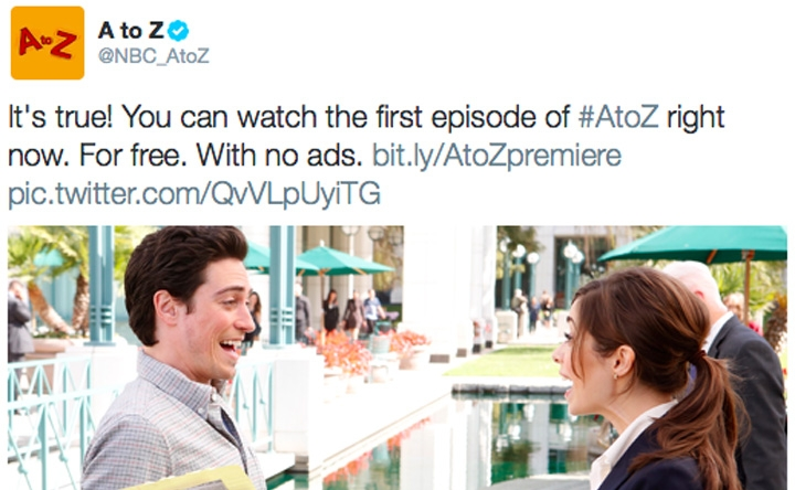 A to Z fall online premiere