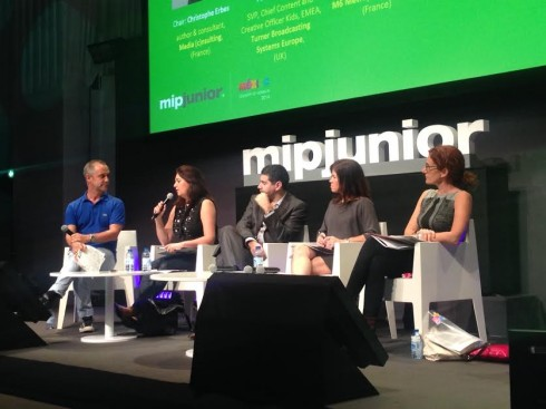 MIPJunior Pitch judges
