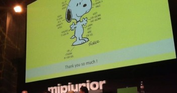 Peanuts at MIPJunior
