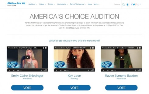 American Idol Choice Audition