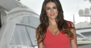 Elizabeth Hurley at MIPCOM 2014