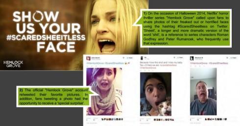 Netflix social media Hemlock Grove