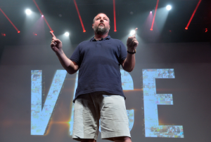 Shane Smith, Vice, MIP Digital Fronts 2014 © S. DHALLOY / IMAGE & CO
