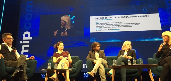 MIPCOM Report: The rise of factual, and global acquisition strategies