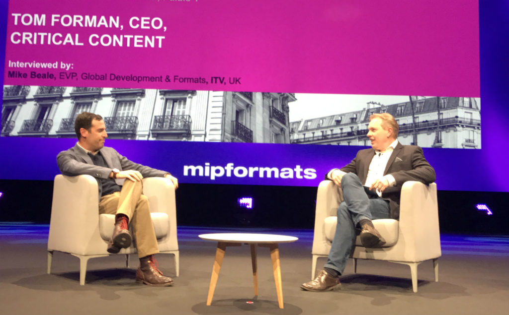 Critical Content at MIPFormats 2017