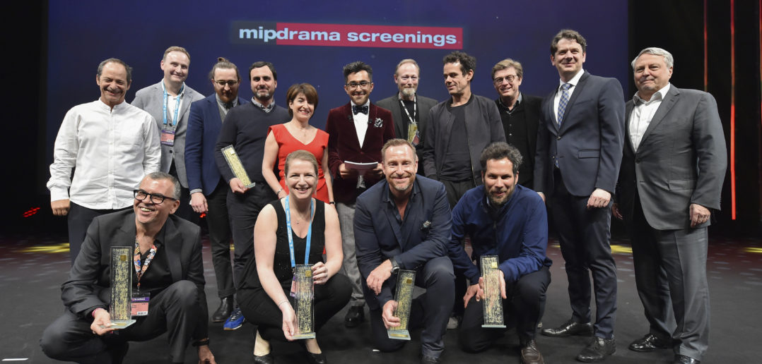 MIP Drama Screenings 2017 winners © Johner/360 Médias