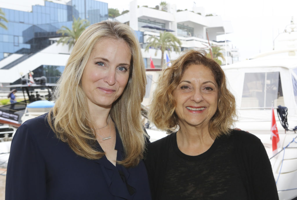BlueAntMedia's Vanessa Case (left) and Love Nature's Marcia Martin