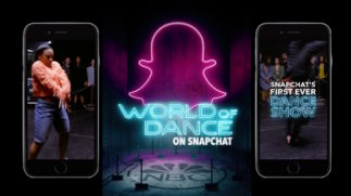 WORLD OF DANCE: ON SNAPCHAT
