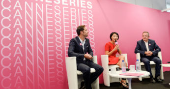 Canneseries conference - © C Alminana/360 Medias