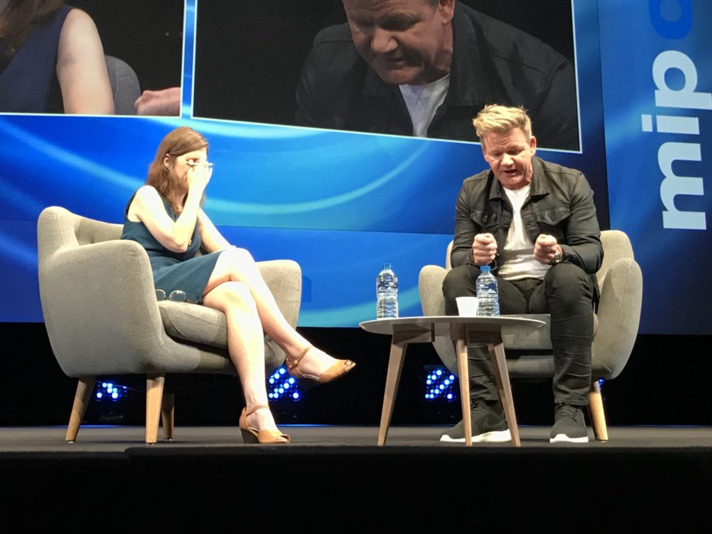 Gordon Ramsay at MIPCOM