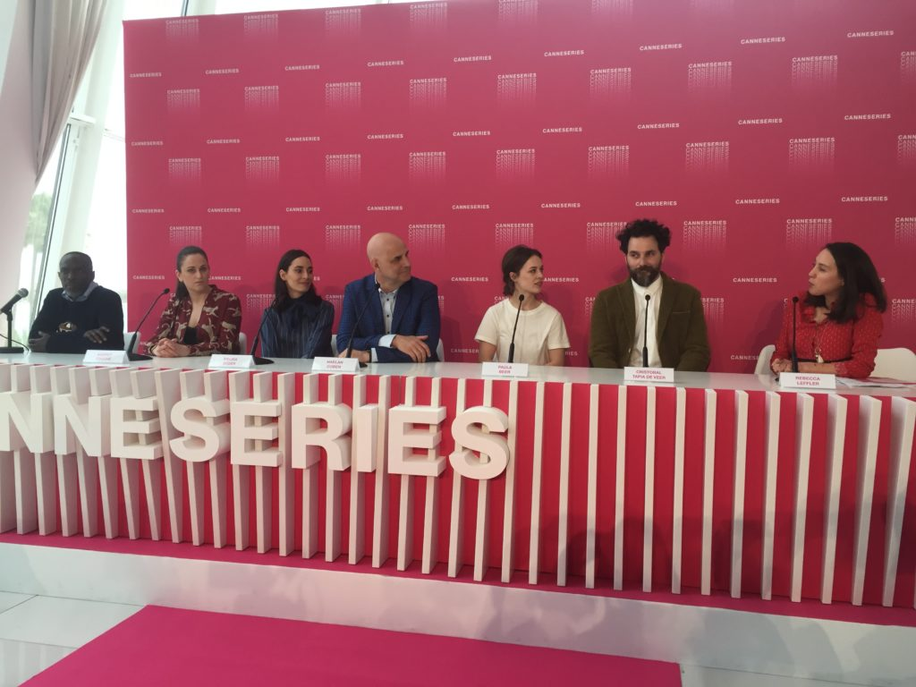 CANNESERIES press conference jury