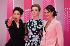 CANNESERIES Pink Carpet Killing Eve cast