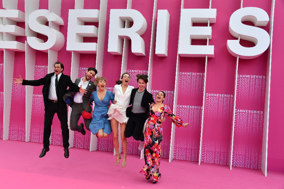 CANNESERIES Pink Carpet State of Happiness cast