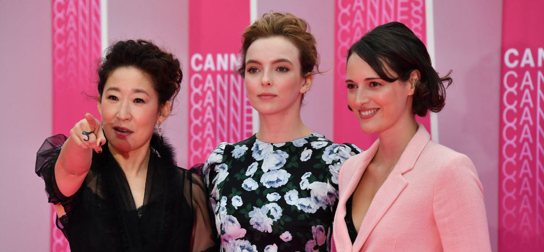 CANNESERIES pink carpet Killing Eve