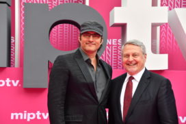 CANNESERIES Pink Carpet Robert Rodriguez