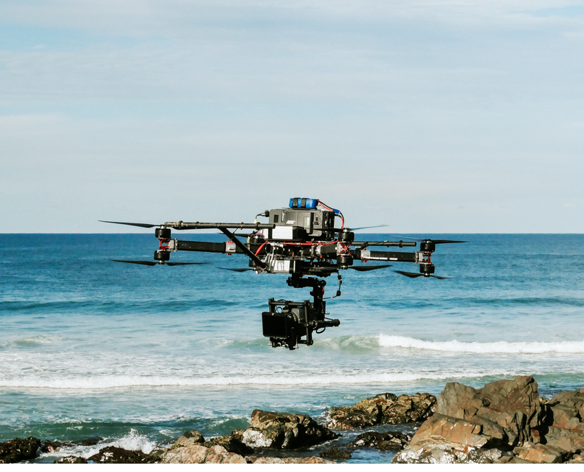 Drones are increasingly used in all genres of production. Photo: Location Magazine