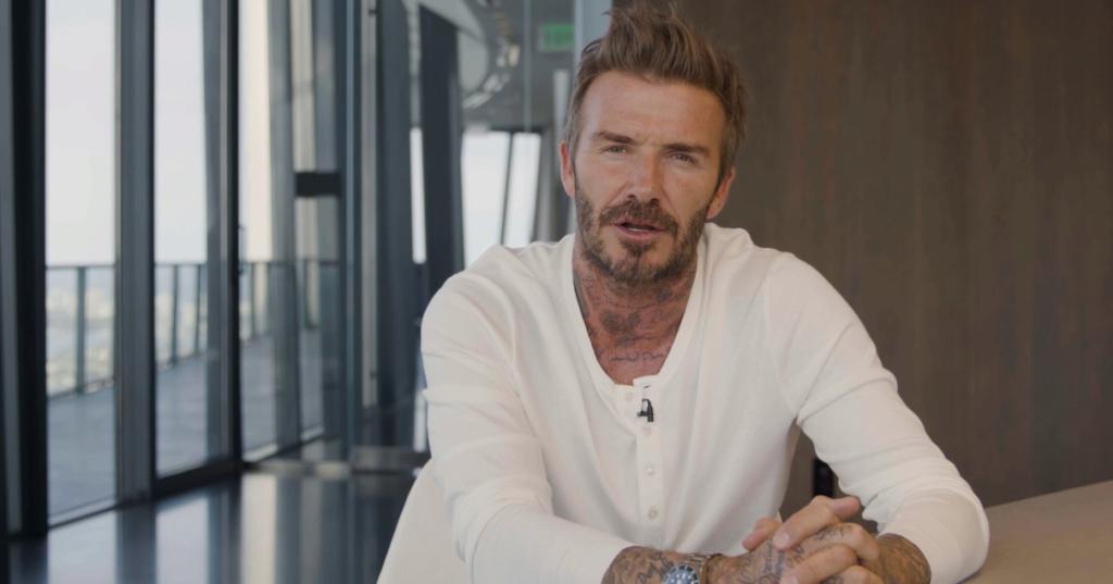 David Beckham MIPTV Keynote