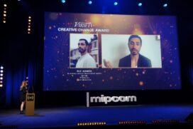 Ri Ahmed - MIPCOM Diversify TV Excellence Awards